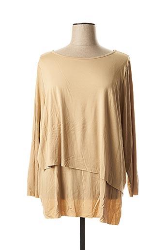 T-shirt manches longues beige MELLEM pour femme