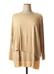 T-shirt manches longues beige MELLEM pour femme seconde vue