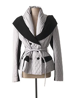 Manteau court gris C.MISSARO pour femme