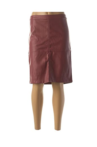 Jupe mi-longue rouge SCHOOL RAG pour femme
