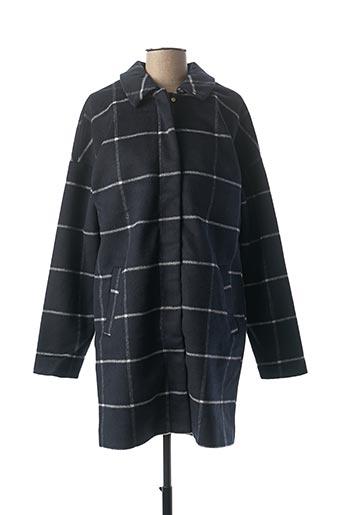 Manteau long bleu VILA pour femme