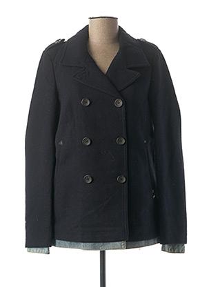 Manteau court bleu MAISON SCOTCH pour femme