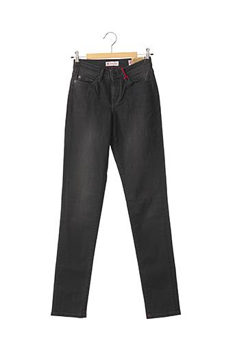 Jeans coupe slim noir RED-TAG pour femme