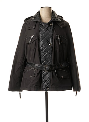 Manteau court noir CONCEPT K pour femme