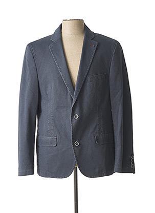 Veste chic / Blazer bleu LUIGI MORINI pour homme