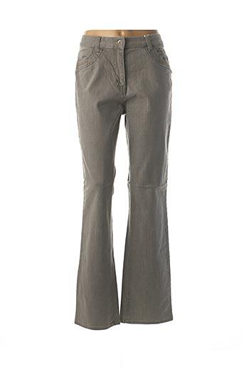 Jeans coupe droite gris JENSEN pour femme