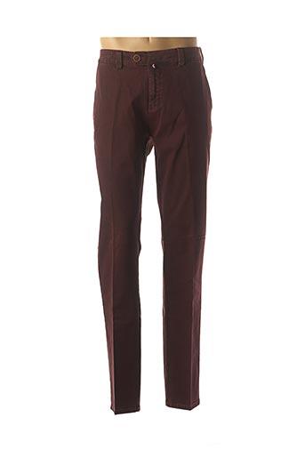 Pantalon chic rouge EMYLE pour homme