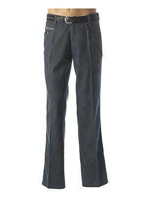 Jeans boyfriend bleu LUIGI MORINI pour homme