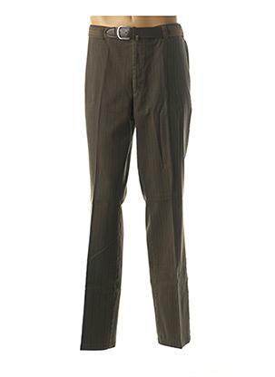 Pantalon chic vert LUIGI MORINI pour homme