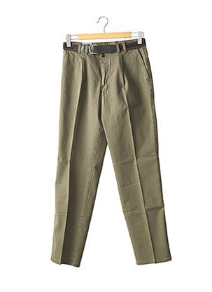 Pantalon casual vert PIONIER pour homme