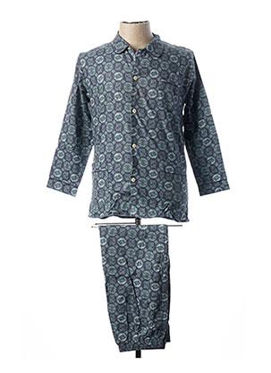 Pyjama bleu F COLLECTION pour homme