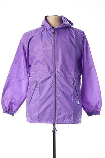 Coupe-vent violet K. WAY pour fille