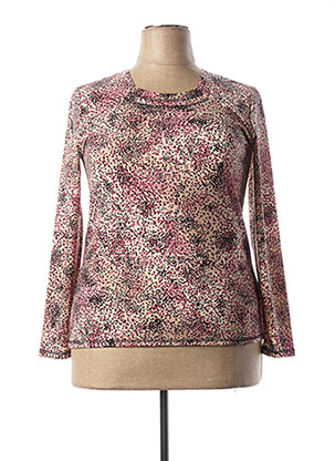T-shirt manches longues rose GEVANA pour femme