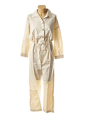 Combi-pantalon beige COSSAC pour femme