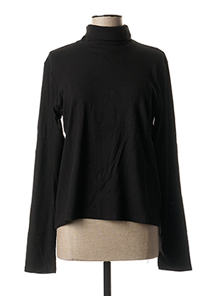 T-shirt manches longues noir SIGNE pour femme