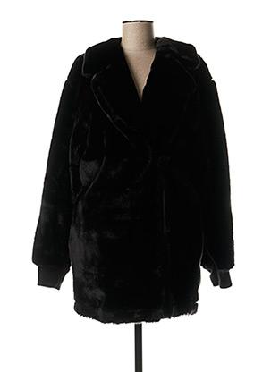 Manteau long noir THE WOODS pour femme