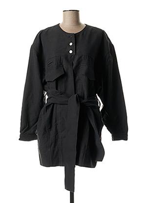 Veste casual noir MARTINE JARLGAARD pour femme