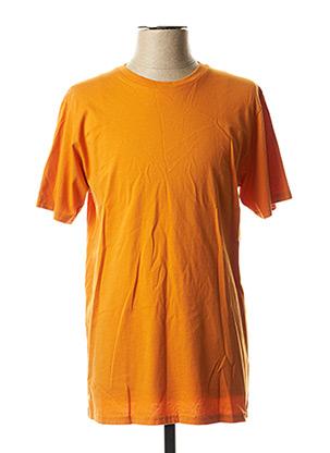 T-shirt manches courtes orange COLORFUL STANDARD pour homme