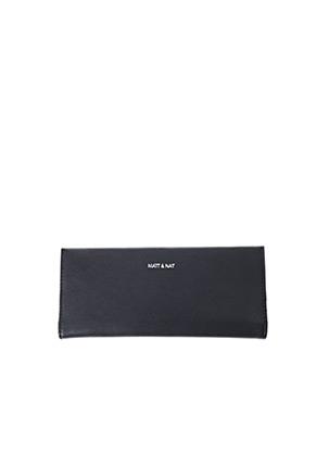 Portefeuille noir MATT & NAT pour femme