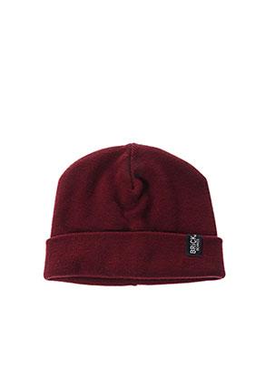 Bonnet rouge BRICK BEANIES pour homme