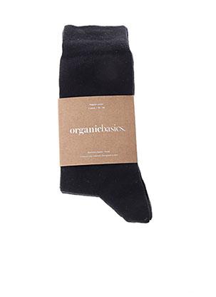 Chaussettes noir ORGANIC BASICS pour unisexe