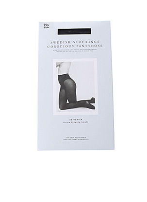 Collants noir SWEDISH STOCKINGS pour femme