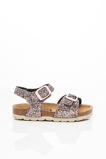 Sandales/Nu pieds rose LA MAISON DE L'ESPADRILLE pour fille