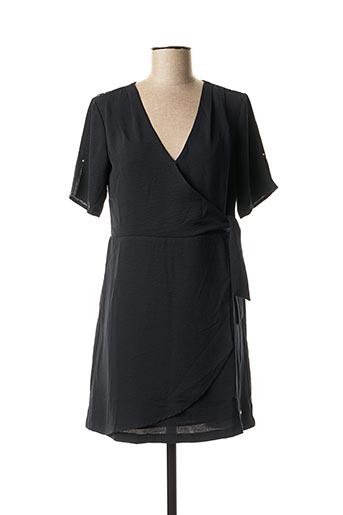Robe courte noir KAPORAL pour femme