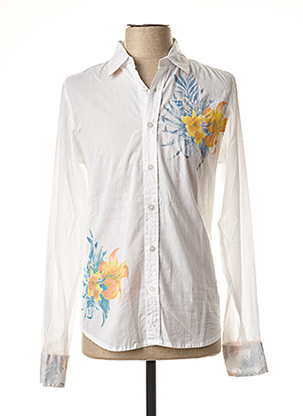 Chemise manches longues blanc CROSSBY pour homme