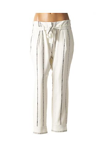 Pantalon 7/8 blanc LES P'TITES BOMBES pour femme