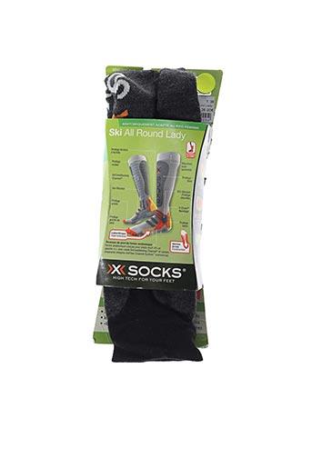 Chaussettes noir X-SOCKS pour femme