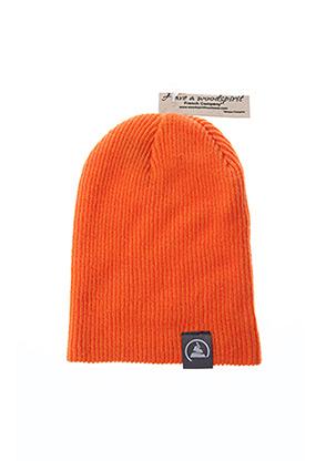 Bonnet orange WOODSPIRIT pour homme