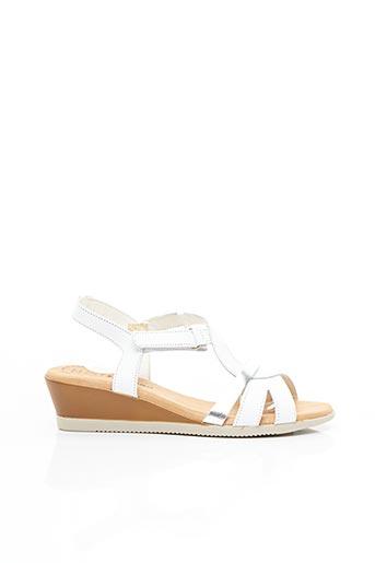 Sandales/Nu pieds blanc JORDANA pour femme