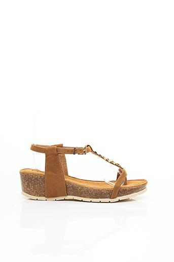 Sandales/Nu pieds marron CHATTAWAK pour femme