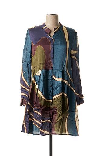 Robe courte bleu CAP JULUCA pour femme