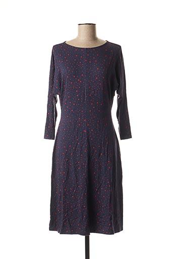 Robe mi-longue bleu ANTOINE & LILI pour femme