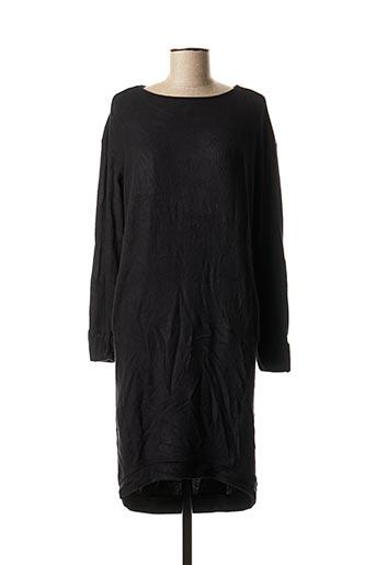 Robe mi-longue noir YAYA pour femme
