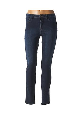 Jeans coupe slim bleu EMMA & CARO pour femme