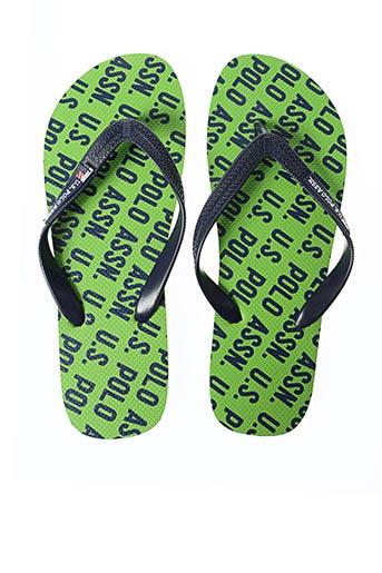Tongs vert U.S. POLO ASSN pour homme
