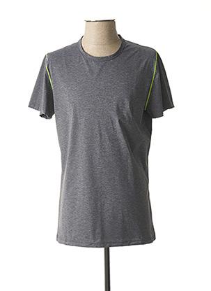 T-shirt manches courtes gris HOM pour homme