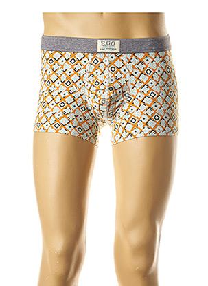 Shorty/Boxer orange E.GO pour homme