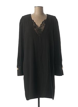 Robe courte noir EMA BLUE'S pour femme