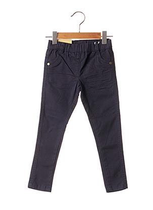 Pantalon casual bleu KNOT SO BAD pour fille