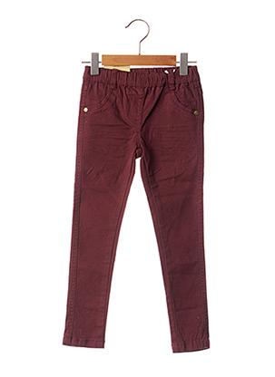 Pantalon casual rouge KNOT SO BAD pour fille