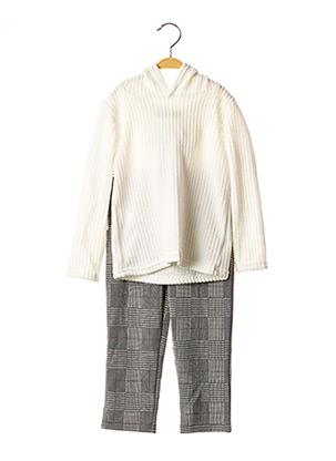Pull/pantalon blanc LPC GIRLS pour fille