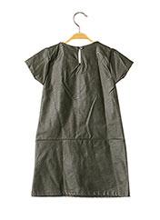 Robe mi-longue vert P'TIT MÔME pour fille seconde vue
