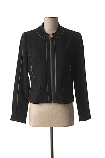 Veste chic / Blazer noir JUS D'ORANGE pour femme