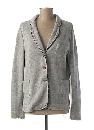 Veste casual gris POUSSIERE D'ETOLE pour femme
