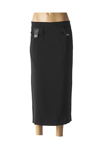 Jupe longue noir ABSOLU pour femme