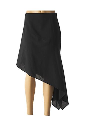 Jupe mi-longue noir COCO MENTHE pour femme